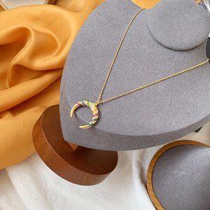 Apm Monaco Colorful Tribal Vintage Necklace
